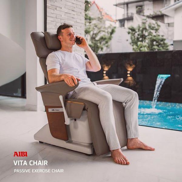 aibi vita chair grey passive exercise best massage chair singapore