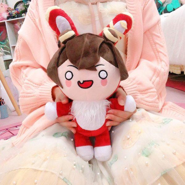 genshin impact amber baron bunny plush soft toy