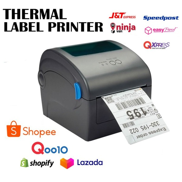 inkless thermal printer best singapore waybill small business owner shipping label order ticket jnt ninjavan qxpress