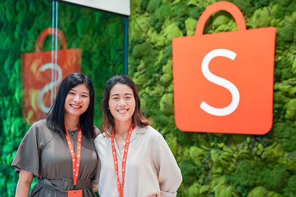 Clara (left) and Peizi (right) from the Shopee Data Analytics team
