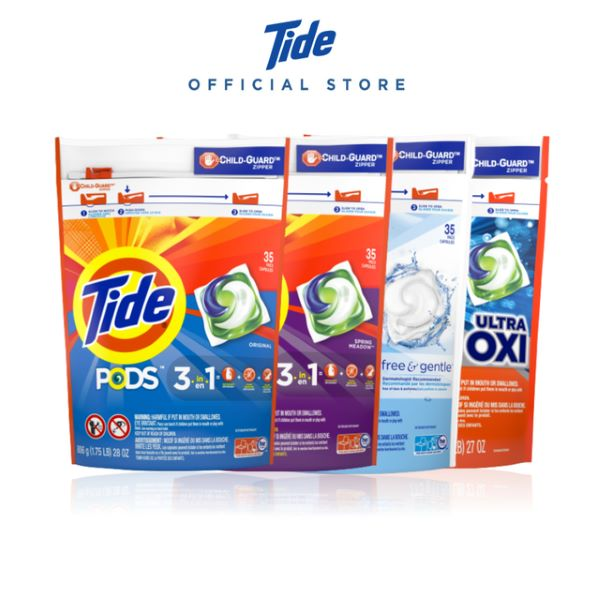 tide laundry detergent pod packets