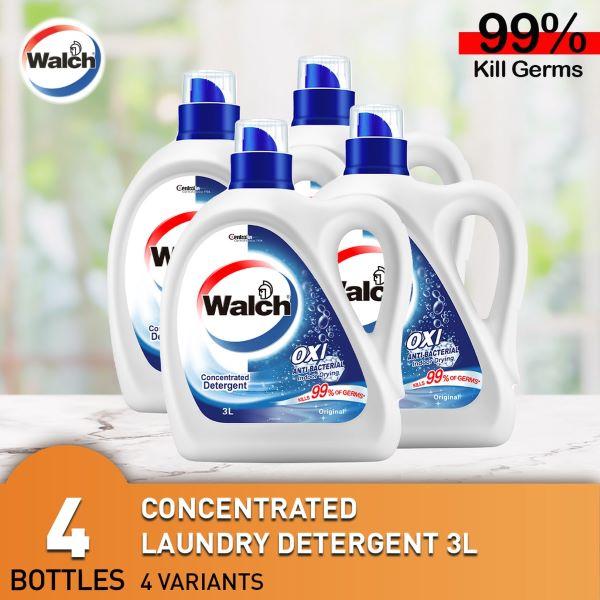 blue white walch laundry detergent bottle best singapore