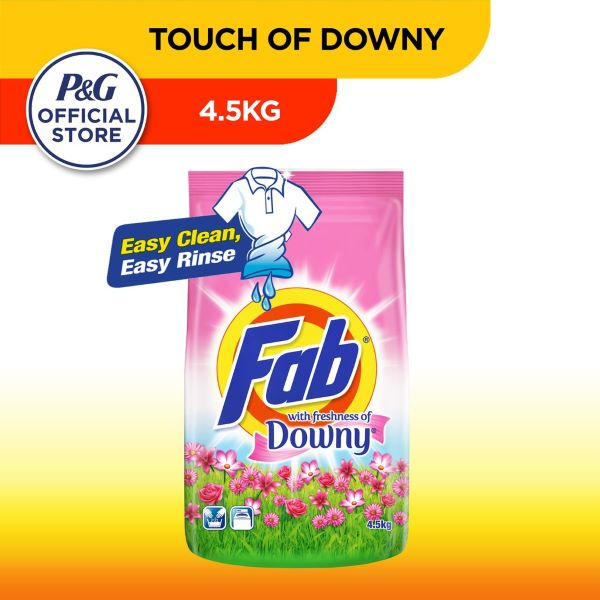 fab laundry detergent powder with touch of downy