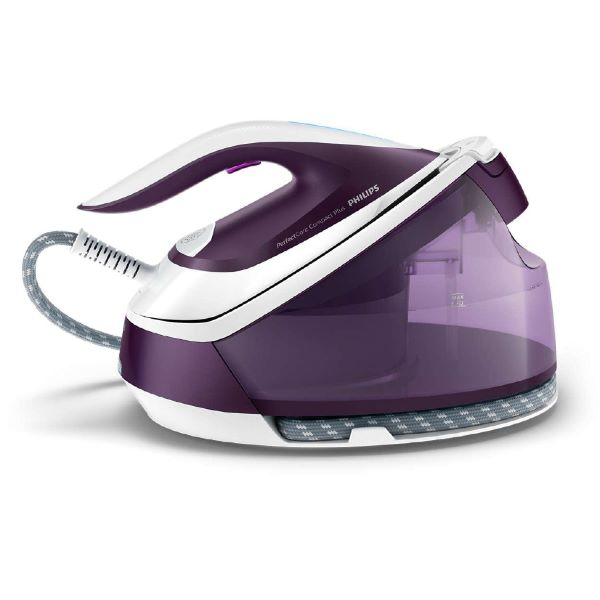 Purple Philips Perfect Care Compact Plus Iron With Steam Generator