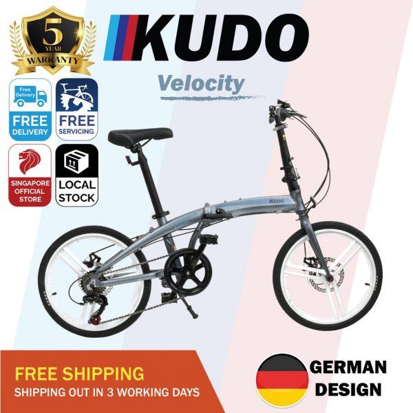 Kudo Foldable Aluminium Bike