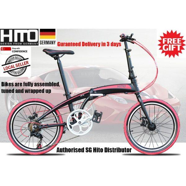 Hito 20 Inch Shimano Aluminium Foldable Bicycle