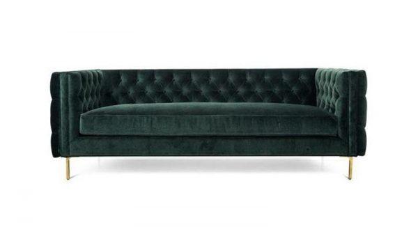 Angelo Green Velvet Sofa