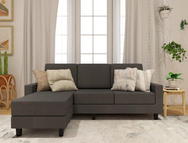 Aurora Fabric L-Shape Sofa