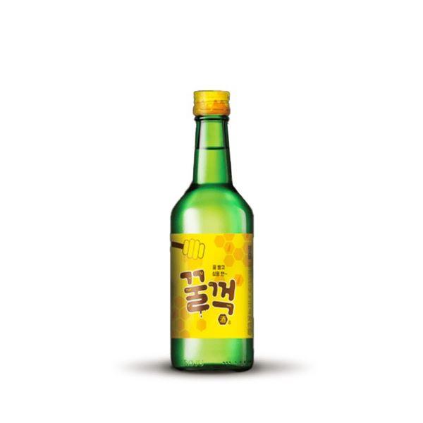 bottle of honey soju best flavour