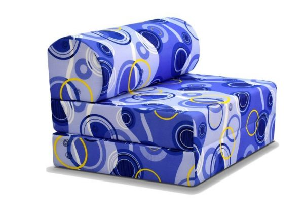 Viro Foldable Fabric Sofa Bed - best sofas in singapore
